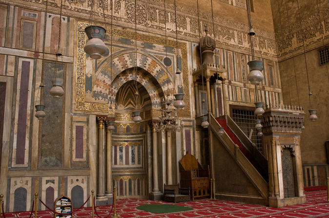 Cairo Combo Tour: Egyptian Museum, Sultan Hassan Mosque, Hanging Church And Souq