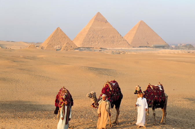 Two days private  trip to Giza pyramids,Sakkara and Cairo main attractions