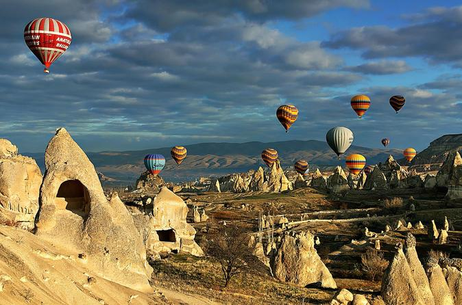 8 Day 7 Night Gallipoli-Troy-Pergamon Acropolis-Pamukkale Hierapolis-Ephesus-Cappadocia Tour from Istanbul