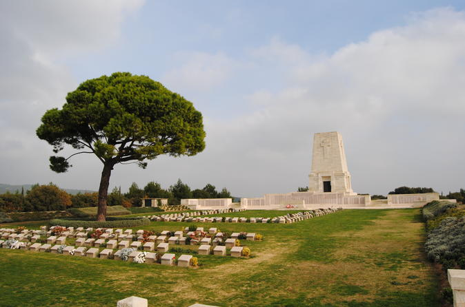 Combined Troy and Gallipoli Tour from Canakkale with onwards transfer to Istanbul