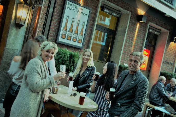 Brauhaustour Duesseldorf mit lebhafter Stadtfuehrung und Brauereibesichtigung