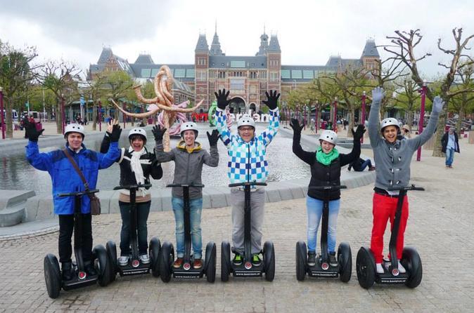 Amsterdam Small-Group City Segway Tour