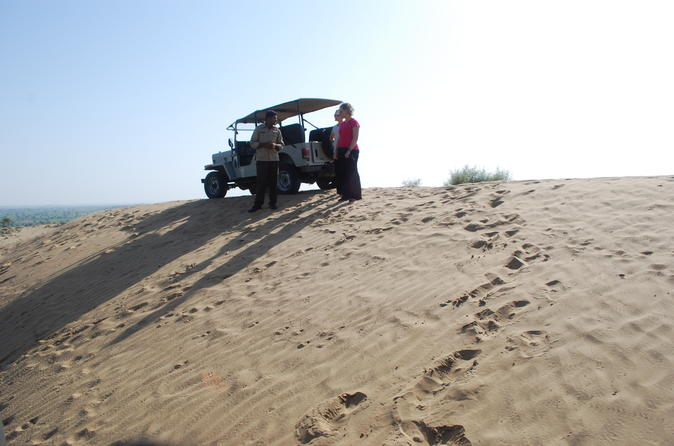 Overnight stay in the Sand Dunes of Manvar