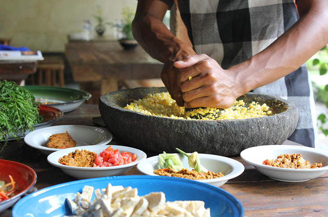 Private Traditional Balinese Cooking Class And Garden Tour In An Ubud