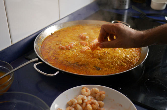 Tapas and Paella Cooking Class with a Local in his Madrid Home
