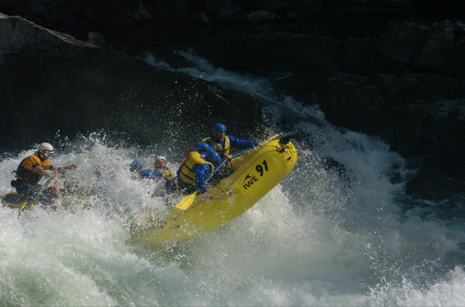 Guaranteed addiction full day rafting on clearwater river with lunch in kamloops 191734