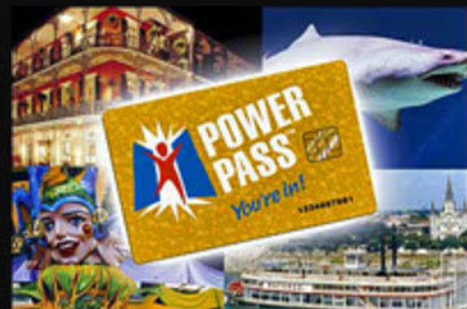 New Orleans Power Pass with Fast Track Entry