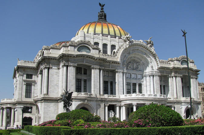 Historic city center Mexico City