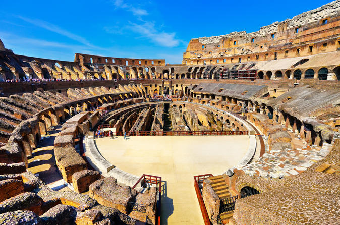 Early Bird Colosseum Semiprivate Tour