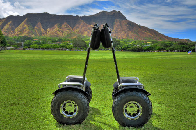 Hoverboarding Tour: Kapiolani Park- Ala Wai Canal- Waikiki 2hr Tour with Audio