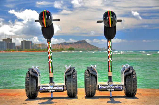 Sunset Glow Hoverboarding Tour: Diamond Head- Kapiolani Park- Waikiki 3hr Tour