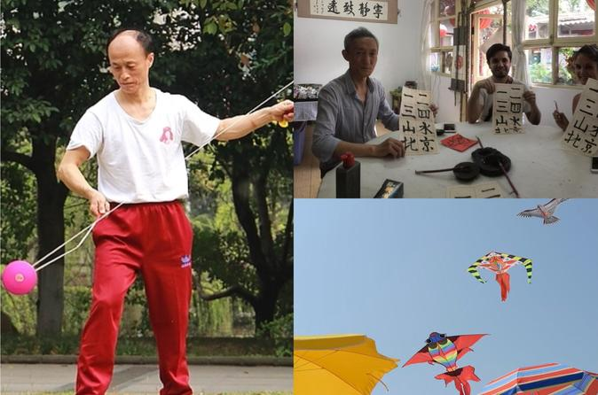 Half Day Family Learning Class of Kite and Chinese YoYo or Calligraphy