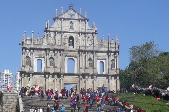 Day trip to Macau - private tour