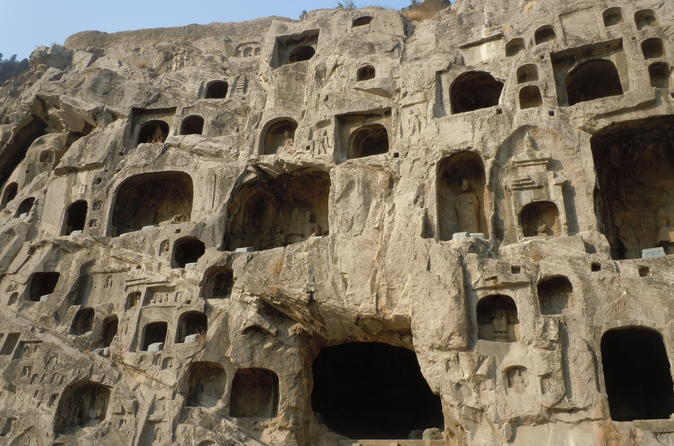 2-Day tour of Longmen Grottoes & Shaolin Temple from Beijing by high speed train