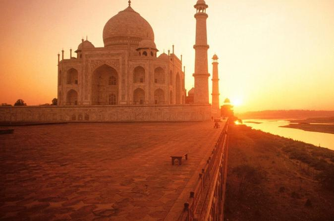Sunrise Tour Of Taj Mahal & Agra Fort From Delhi