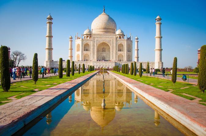 Agra Day Trip: Taj Mahal by Taj Express Train