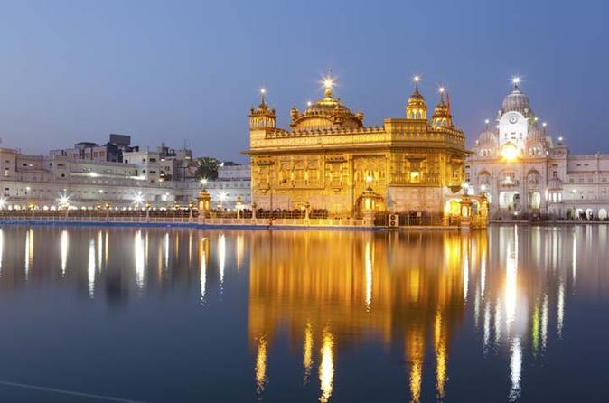 Excursão do Templo Dourado e Haridwar Rishikesh de 6 dias