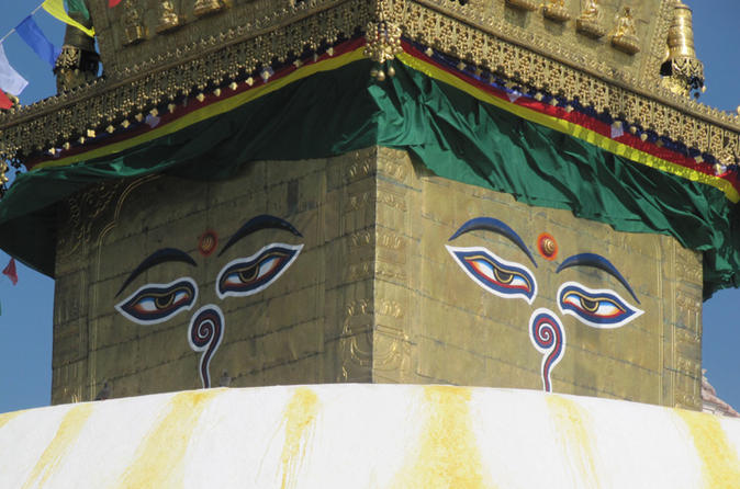 4-Hour Swayambhunath and Patan Durbar Square Tour in Kathmandu