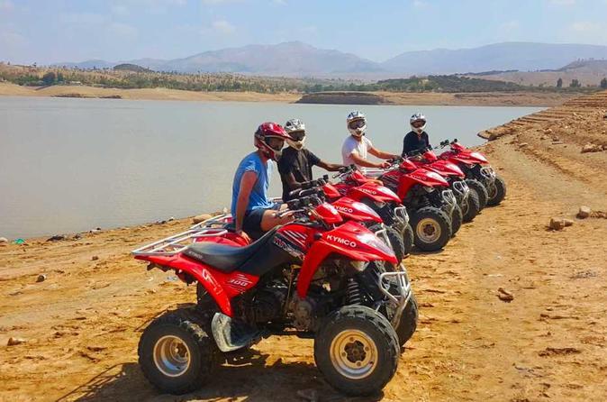 Quad Biking At The Lake Lalla Takerkouste - Marrakesh