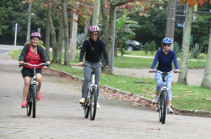 Excursão de bicicleta no norte de Florianópolis: Praias de Moçambique, Santinho e Ingleses