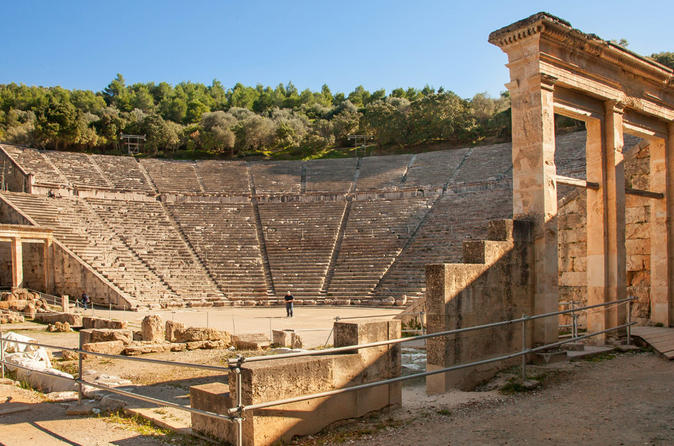 Half day tour in Mycenae and Epidaurus from Nafplio ...