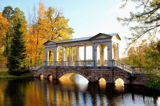 Catherine Park in Pushkin Admission Ticket