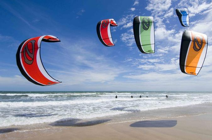 Private or Group Kiteboarding Lessons in Salinas Bay