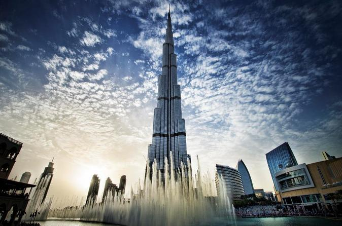 2-Day Tour Burj Khalifa 124th Floor, Sunset With Dinner Safari and Sand Boarding