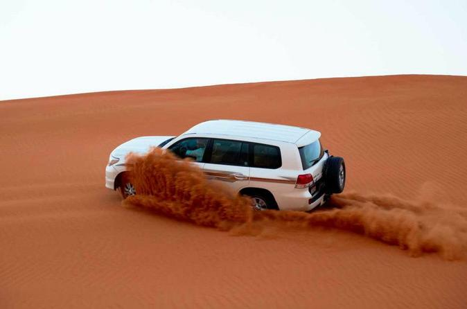 Desert Adventure Safari with Free Sand-Boarding incl BBQ Dinner and Entertainment Shows