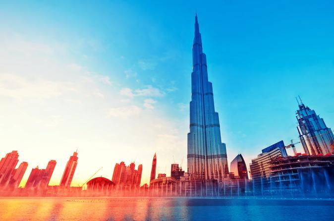 Dubai Private Tour plus 124th Floor Burj Khalifa Ticket