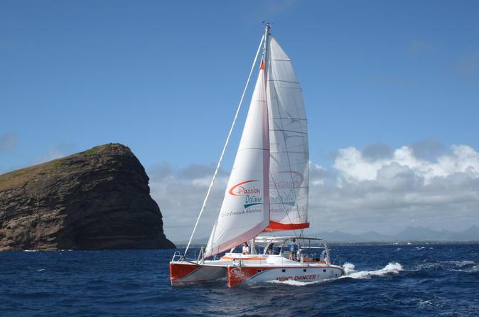 Catamaran Cruises Mauritius- Full Day Cruise to Ilot Gabriel