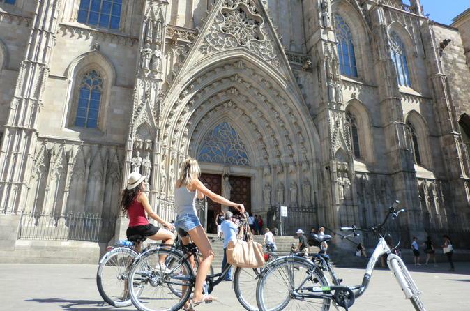 Barcelona Gems - Private City Bike Tour