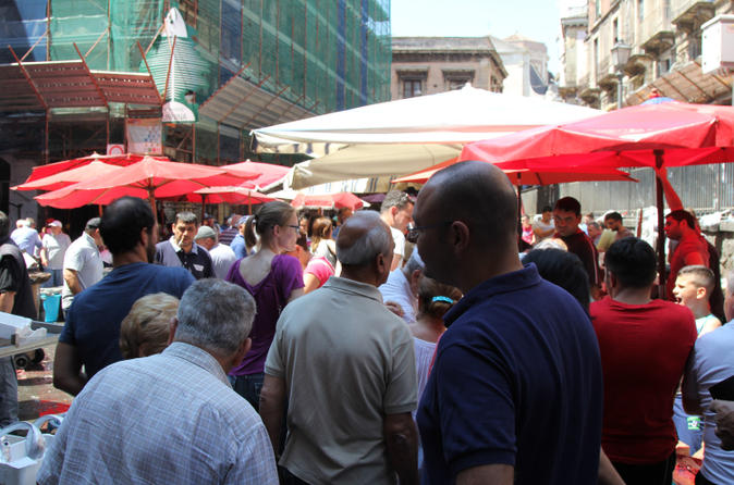 Gastronomic street food tour of catania in catania 211383