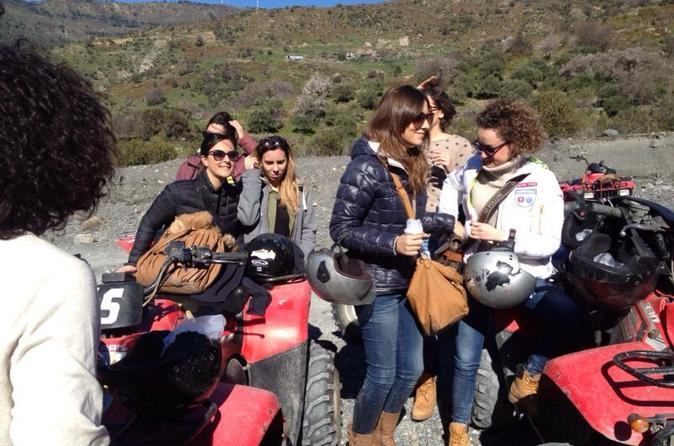 Mt etna off road quad bike in taormina 227379