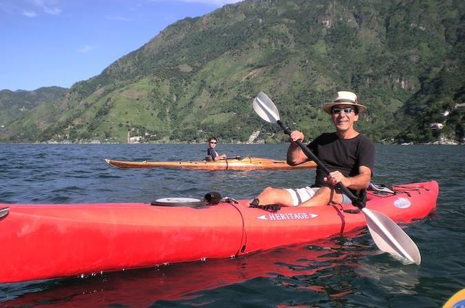 Kayak and Hike Adventure Tour from Panajachel in Guatemala