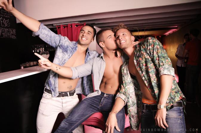 Excursão noturna privada gay em Barcelona