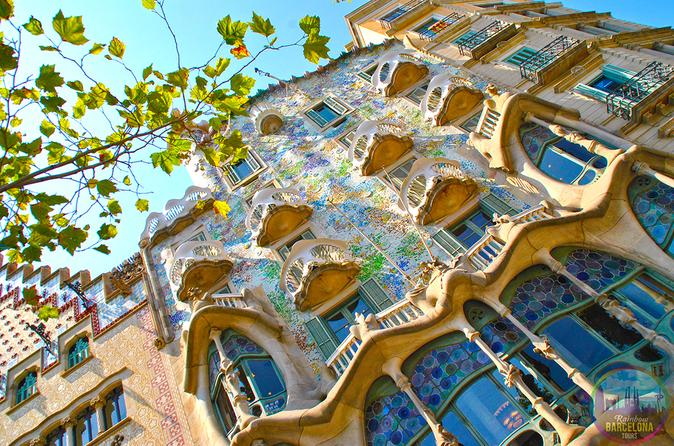 Excursão particular GLS a pé com ingresso Evite as filas para a Sagrada Família de Gaudí
