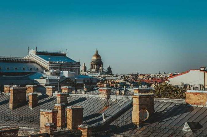 Private St. Petersburg Rooftop Tour with Optional Romantic Lunch