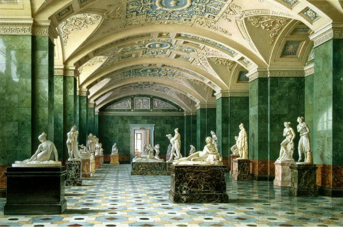 Private tour of the hermitage museum in saint petersburg for Tour hermitage