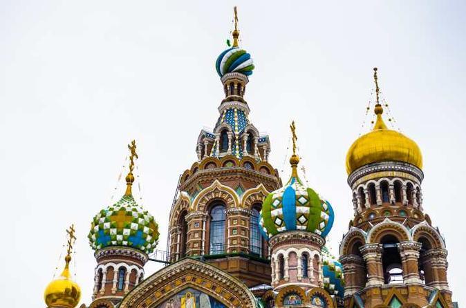 St. Petersburg Private Visa-Free Shore City and Peterhof Tour