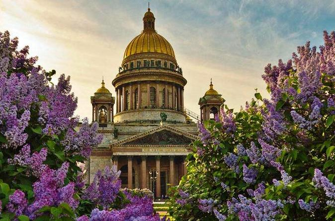 St Petersburg Visa Free Shore City Tour with Boat Cruise and Yusupov Palace