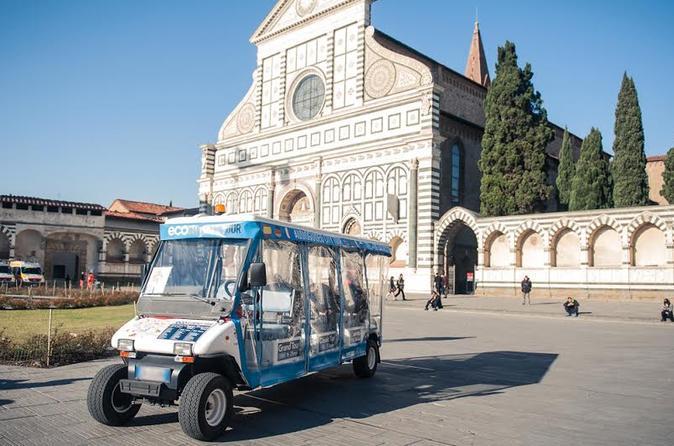 Florence Floransa Eko Turu Elektrikli Golf Arabası İtalya, Avrupa