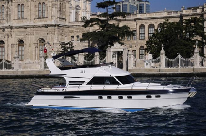 Day Cruise from Istanbul to Poyrazkoy by Private Yacht