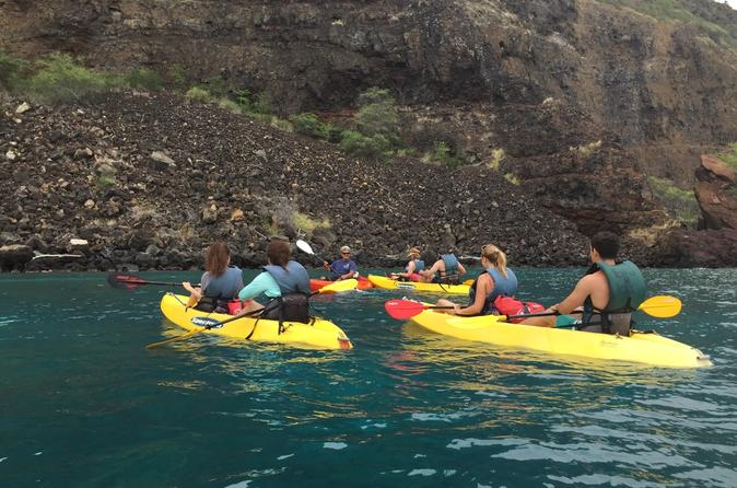 2 hour guided kayak or paddle board tour of scarborough s jurassic in scarborough 323685