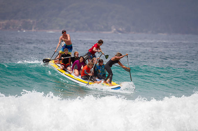 Eight Man Paddle Board Experience In Scarborough