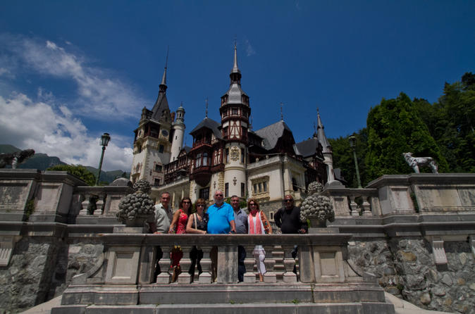 Small group day trip to dracula s castle brasov and peles castle from in bucharest 187154