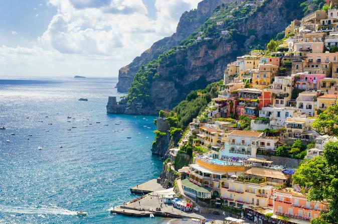 Experiência de dia inteiro na costa de Amalfi, saindo de Sorrento