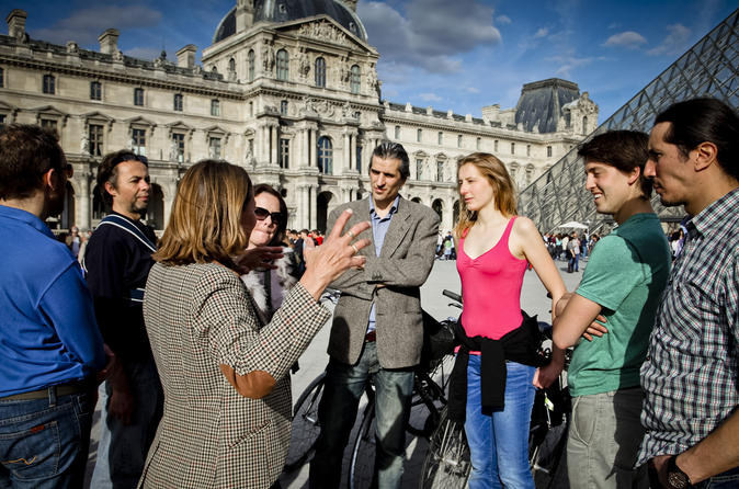 Exclusive Bike and Skip the Line Louvre Museum Tour
