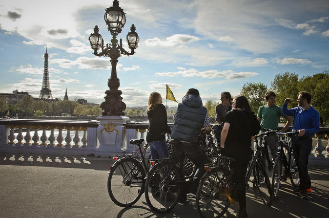 Paris 3-hour Sightseeing Bike Tour