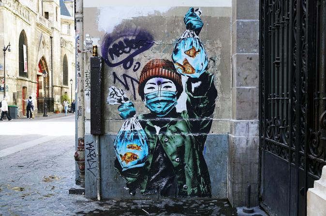 Street Art Private Tour in Le Marais